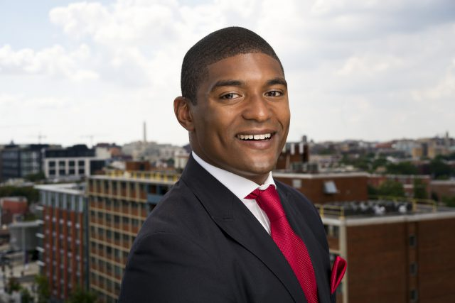 Marcus Goodwin, of Four Points, is running for an At-large seat on the DC council.
