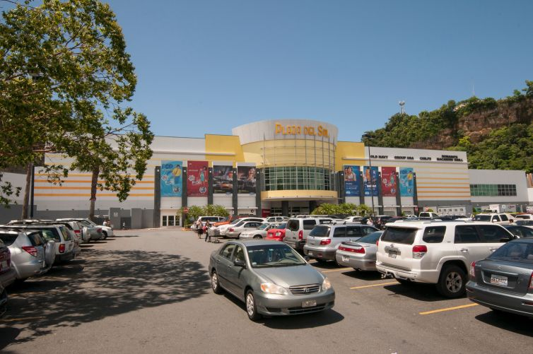 Plaza Del Sol mall, a DDR property in Bayamon, Puerto Rico.