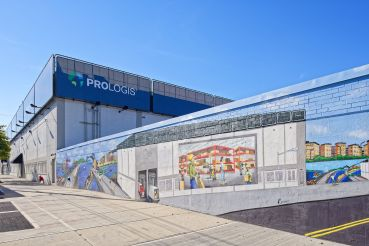 Prologis's warehouse building at 1055 Bronx River Avenue.