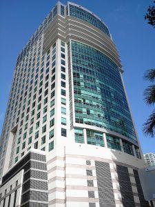 The Sabadell Financial Center.