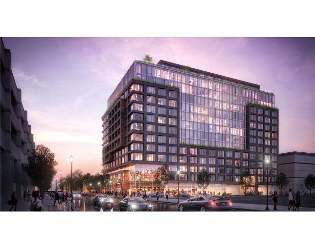 Rendering of JBG Smith's West Half development
