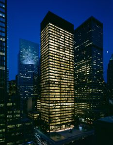 The Seagram Building at 375 Park Avenue.