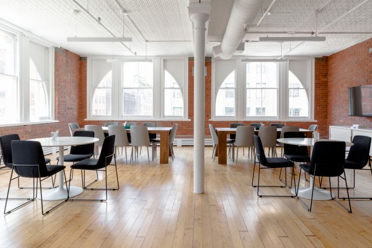 A Breather space at 122 Hudson Street.