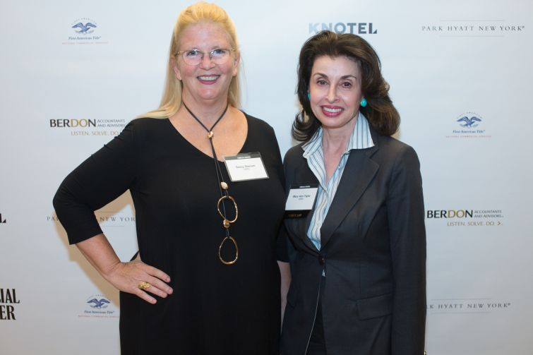 CBRE's Darcy Stacom, left, and Mary Ann Tighe.