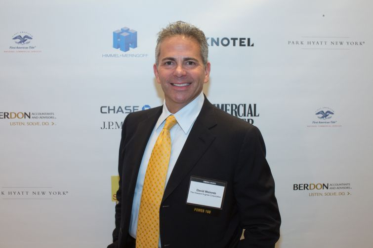 Howard Hughes Corporation CEO David Weinreb.
