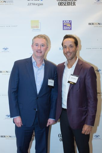 Starwood Property Trust's Dennis Schuh, left, and Jeffrey DiModica.