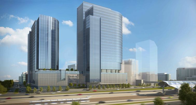 Fannie Mae has pre-leased office space at Reston Gateway.