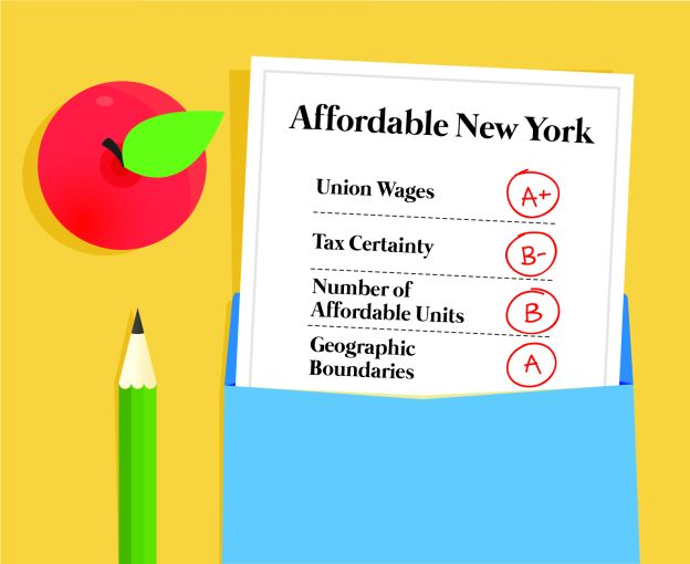 Affordable New York's report card, one year on.