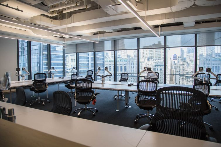 GroupM's offices in 3 World Trade Center are nearly ready for occupancy.