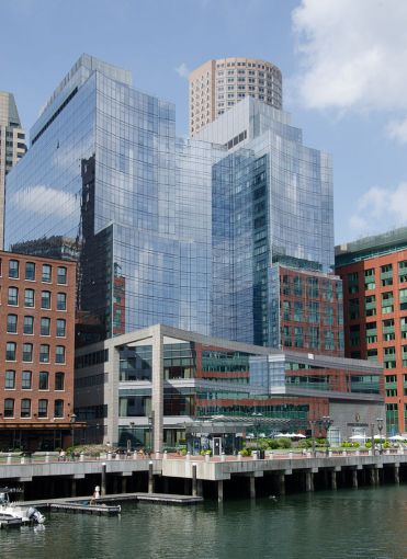 The InterContinental Boston hotel.
