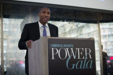 JP Morgan's Chad Tredway announces 2018's Rising Star at CO's annual Power Gala event on June 14, 2018.
