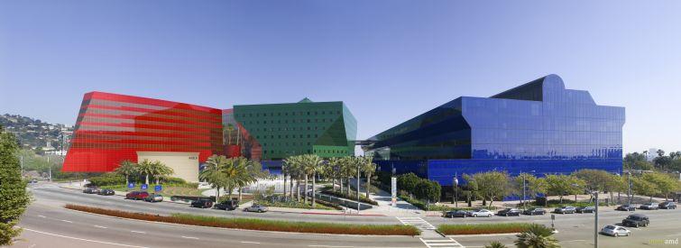 Pacific Design Center.