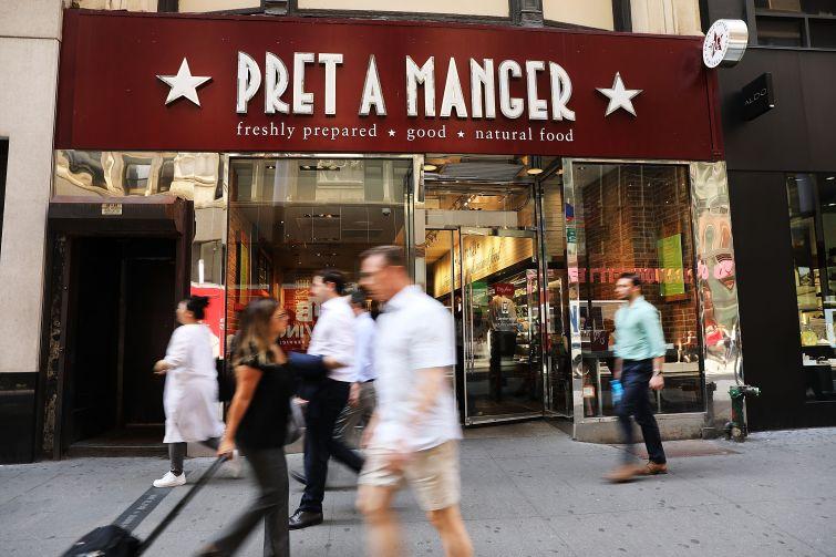 A Manhattan Pret A Manger.
