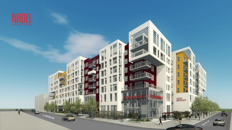 The Rise, Koreatown, one of several mixed-use developments set for the Central LA neighborhood.