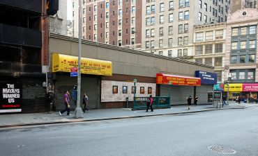 The site at 1185 Broadway.
