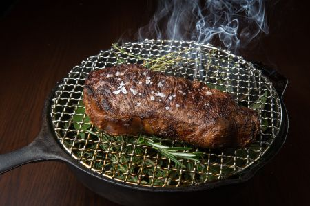MEATY OFFERINGS: While steakhouses are obviously all about the steak, there has been increasing pressure for them to beef up the non-meat options.