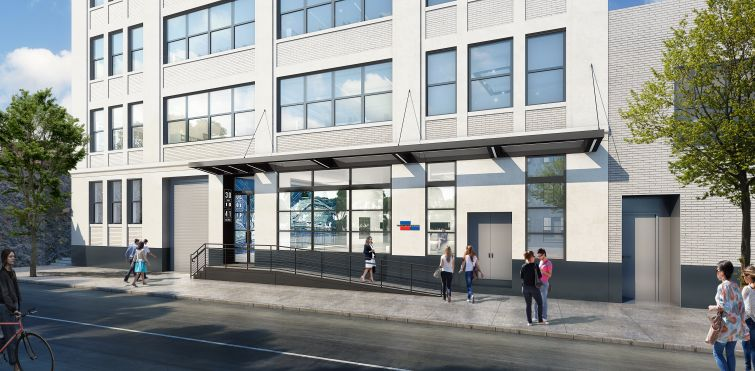 Rendering of the Gaseteria Building at 30-10 41st Avenue in Queens.