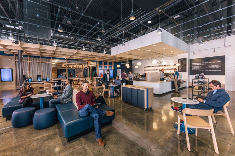 Capital One Cafe with Peet's Coffee.
