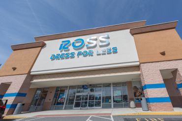 A Ross Dress For Less store exterior in Philadelphia, Penn.