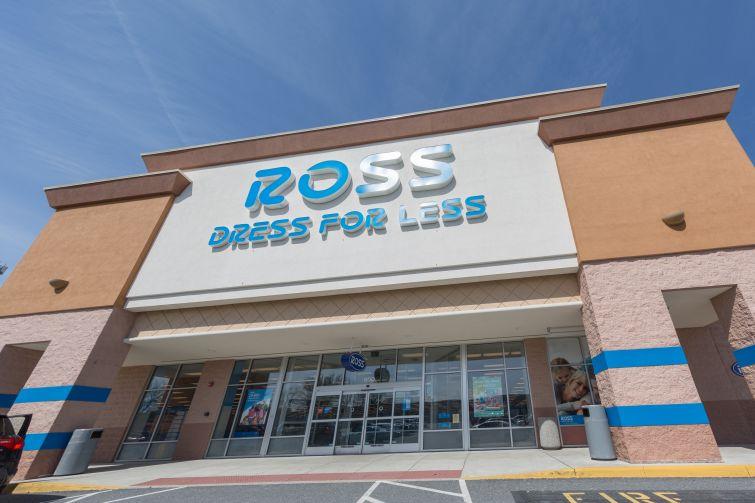 A Ross Dress For Less store exterior in Philadelphia, Penn.