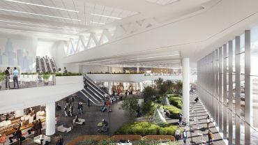 A rendering of LaGuardia Airport's Terminal B. Photo: