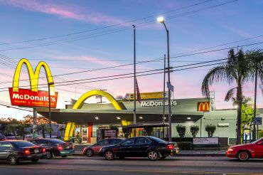 McDonald's at 405 North Alvarado Street in Echo Park.
