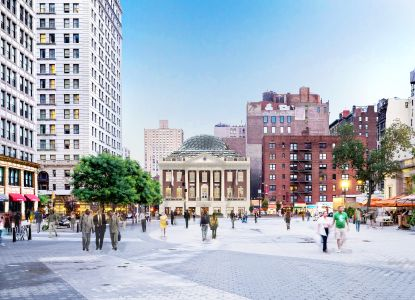 Rendering of 44 Union Square.