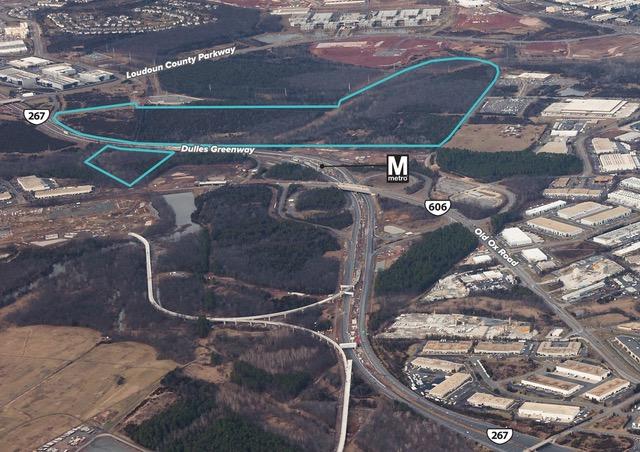 Aerial photo of Washington Dulles Gateway