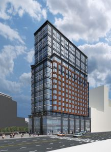 A rendering of 1 Flatbush Avenue.