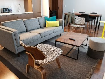 Lauren Elkies Schram stayed in a one-bedroom Pod Pad at the Pod Times Square at 400 West 42nd Street.