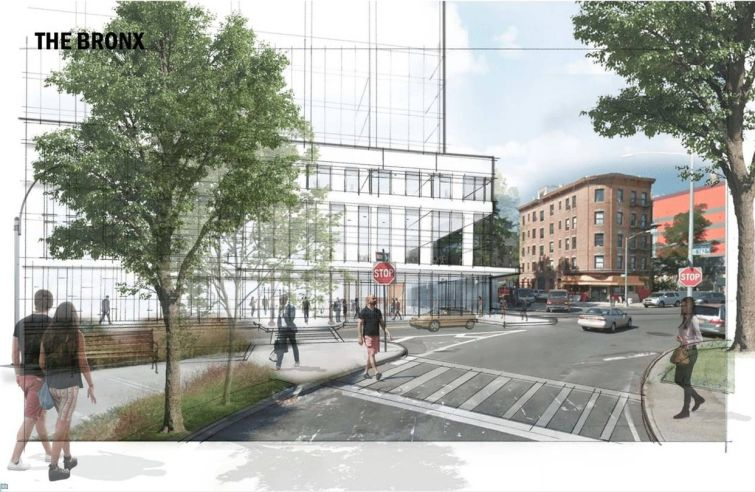 A look at the new Bronx jail planned for 320 Concord Avenue in Mott Haven.