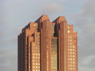 Cityplace Tower in Dallas.
