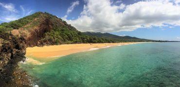 Makena Beach in Maui.