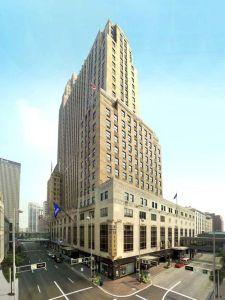 Hilton Cincinnati Netherland Plaza.
