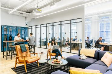 An HQ by WeWork location in Manhattan.