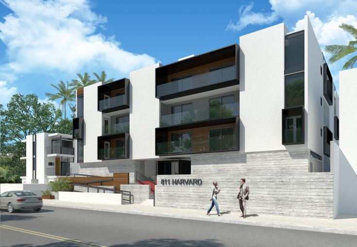 Rendering of 811 Harvard  Boulevard, the 40,000 square-foot building being developed for communal living by Upstart.