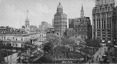 Newspaper Row, 1901-1907