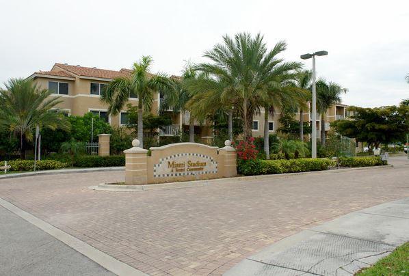 Miami Stadium Apartments.