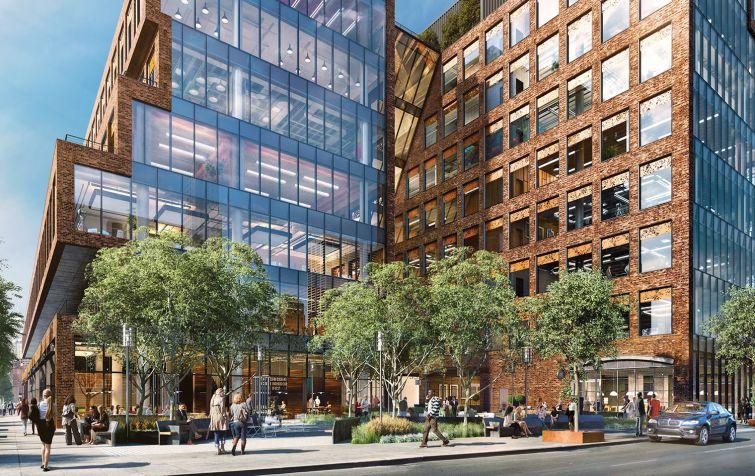25 Kent's proposed public plaza.