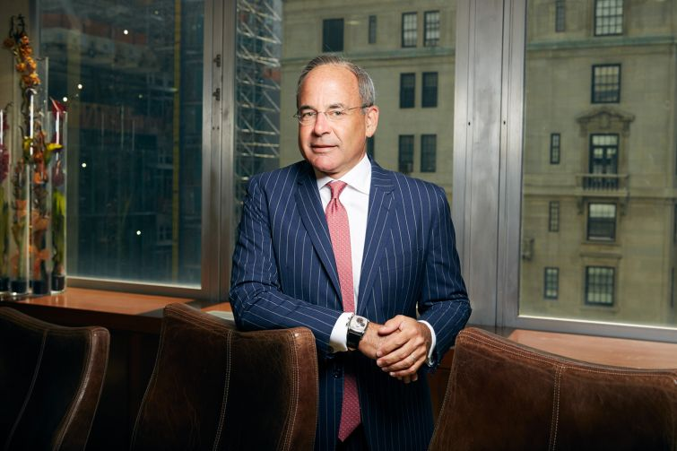 Ronald Dickerman has raised his firm's profile with the acquisition of Forest City Realty's 2.1-million-square-foot retail portfolio in New York and New Jersey