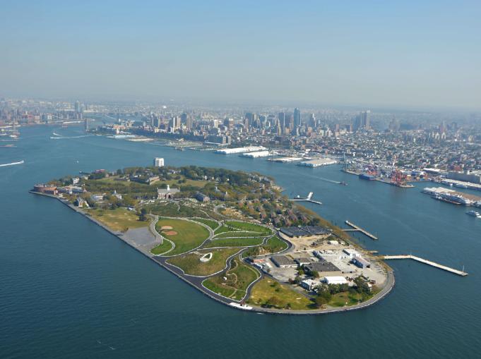 Governor's Island.
