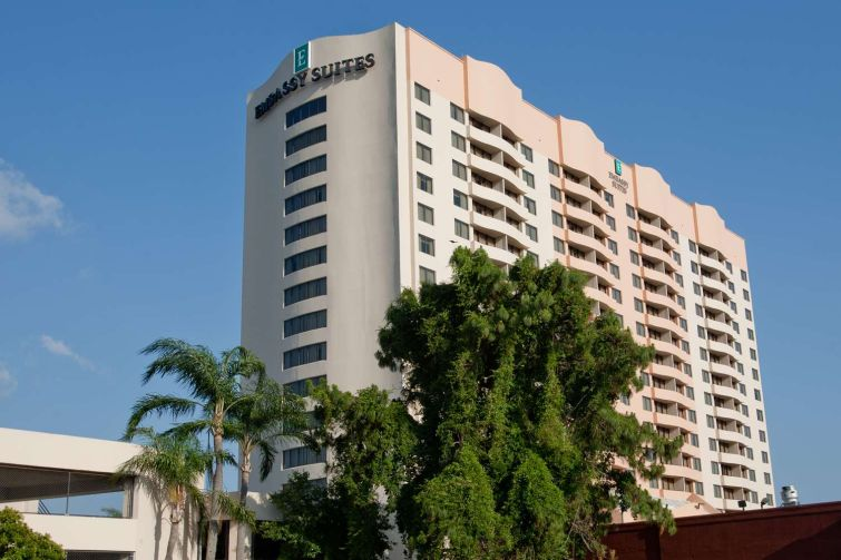 The Embassy Suites Hotel in Tampa, Fla.