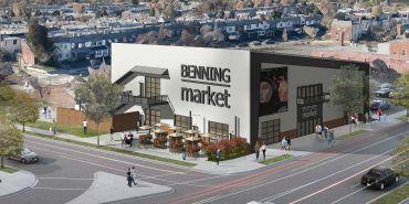 Rendering of Benning Market