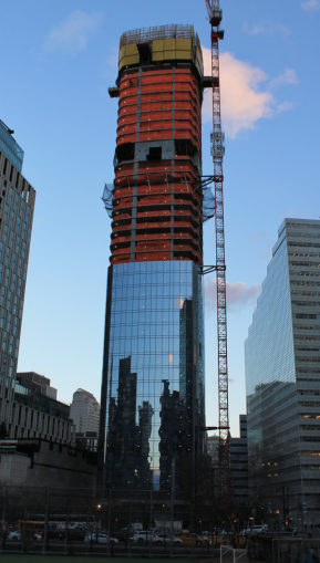 111 Murray Street, under construction last year.