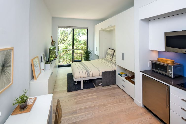 Monadnock Development built the first 100-percent micro-unit apartment building in New York City in recent memory with Carmel Place at 335 East 27th Street in 2016.