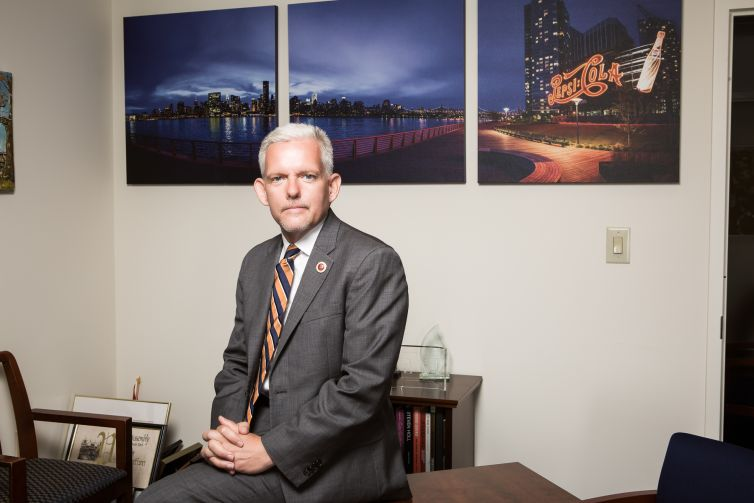 Councilman Jimmy Van Bramer is grappling with massive residential development in Long Island City, infrastructure challenges and constituents who can be wary of change.