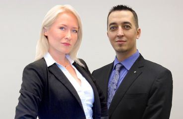 Elana Tsyganko and Max Kostikov.