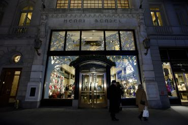 Henri Bendel's flagship on Fifth Avenue.