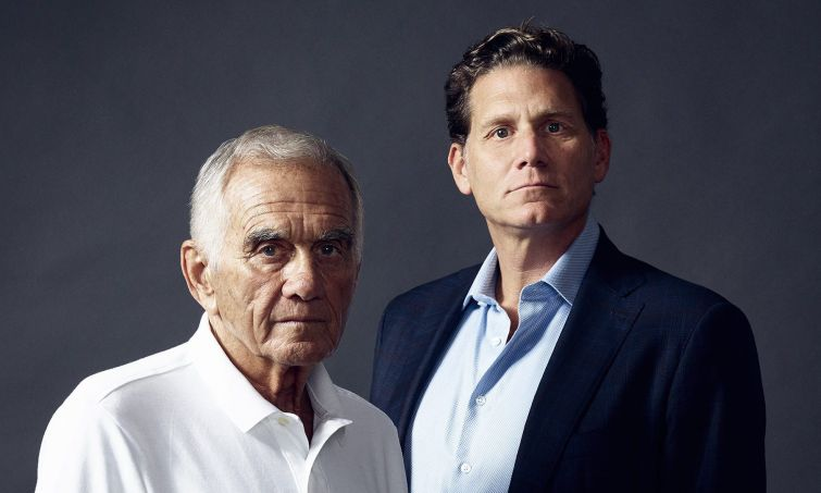 Jerry, left, and David Wolkoff.