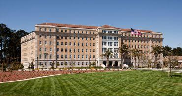 The Presidio Landmark.